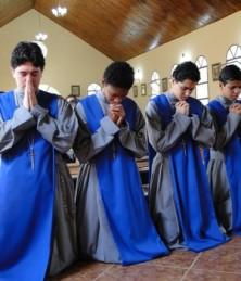 seminarians praying photo